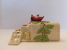 Lenox Gifts and Greetings Christmas Tree Ornament - Red Cardinal on Mailbox