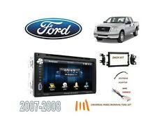 2007-2008 FORD F150 PICKUP STEREO KIT, BLUETOOTH USB TOUCHSCREEN DVD