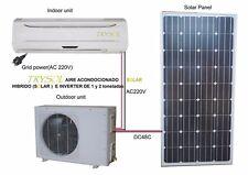 ALMOST SOLAR 100%  AIR CONDITIONER TRYSOL BRAND 12,000 BTU W/ 1 SOLAR PANEL 150W