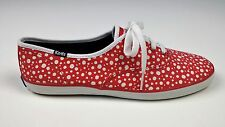 KEDS Red Polka Dot Sneakers; Women's Size 8;