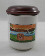 Villeroy & and Boch DESIGN NAIF LAPLAU storage jar Lion 9cm BL005