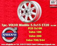 1 Cerchio Volvo  100, 200, 700, 900 5.5x15 5x108  N.1 Wheel1 Felge Llanta Jante