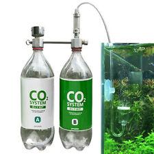 CO2 Generator Set for Plants Aquarium DIY CO2 Kit Pressurized w/ Bubble Counter