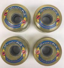 KRYPTONICS ROUTE 65MM 78A Clear Longboard Cruiser Skateboard Wheels