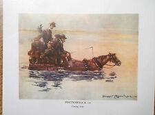 Golf Course Print IRELAND PORTMARNOCK DUBLIN Facsimile Of Original 1910 Painting
