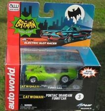 AW 4GEAR BATMAN Catwoman Grand AM Funny Car HO Scale Slot electric racer Car