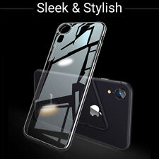 New Genuine For Apple iPhone XR Shockproof Silicone Gel Transparent Case Cover