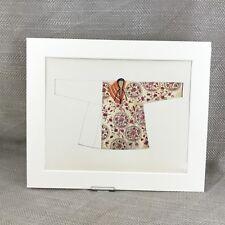 Antique Costume Print Chinese Turkestan Women's Garment Traditional Dress