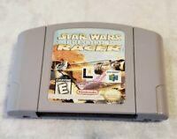 Star Wars Episode 1 Racer Nintendo 64 N64 Authentic OEM Video Game Cart🔥🔥🔥🔥