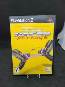 Star Wars: Racer Revenge (Sony PlayStation 2 PS2, 2002) Complete CIB