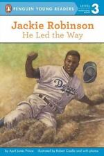 Penguin Young Readers Lv. 3: Jackie Robinson - He Led the Way by April Jones