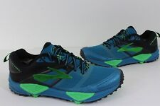 Brooks  Mens Sz 8 Medium (D) Cascadia 12 Performance Trail Running Shoes Blue