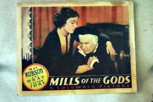 Mills Of the Gods 1934 Fay Wray key original lobby card