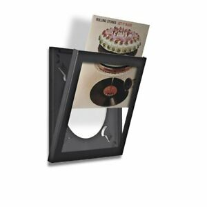 Art Vinyl Play And Display Record Frame Black 1 Piece