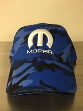 NEW! MOPAR BLUE CAMO HAT / CAP      (SHIPS IN A BOX)