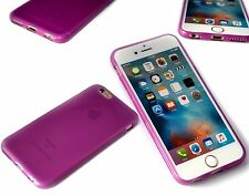 Protective Impact Displacement Soft Micro Silicone TPU Apple iPhone 6 Pink Case
