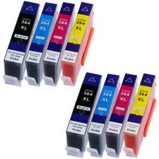 8 XL Druckerpatronen mit Chip ersetzen 364XL für HP Photosmart 5510