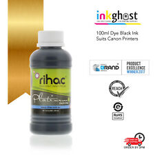 100ml rihac Black Dye or pigment Refill Ink compatible with all Canon cartridges