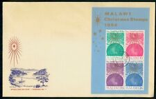 MayfairStamps Malawi 1964 Souvenir Sheet Christmas Holiday First Day Cover WWH19