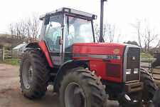 Massey Ferguson 3600 Series Tractor Workshop Manual & Operators Manual 3635-3690