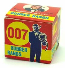 Vintage James Bond 007 1960s Rubber Bands Mint Boxed Sean Connery Original