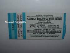 ADRIAN BELEW 1994 Concert Ticket Stub MINNEAPOLIS First Avenue KING CRIMSON Rare