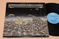 COMMANDER CODY LP LIVE FROM DEEP...PROG 1°ST ORIG USA 1974 TOP EX