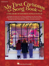 """""""My First Christmas Song Book"""" EASY PIANO/KEYBOARD MUSIC BOOK-BRAND NEW ON SALE!"""
