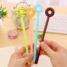 Colorful 4pcs Donut Pen Foughtnut Gel Pen Office Stationery School Supplier