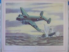 "World War II ""Sighted Sub, Sank Sub"" Thompson Print"