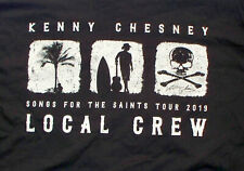 Kenny Chesney 2019 Songs For The Saints Tour Local Crew T-shirt Xl Never Worn