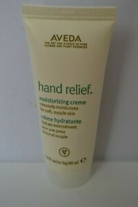Aveda Hand Relief Moisturising Cream travel size 40ml RRP 125ml £21