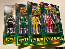 4 Diff. Ban Dai Morphin Power Rangers Figures MOC Trini Tommy Zach Kimberly