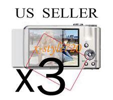 3x Sony CyberShot DSC-H70 Camera Clear LCD Screen Protector Guard Cover Film