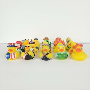 Rubber Ducky Duckies Small Mixed Lot of 20