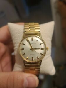Vintage Bulova Automatic N 0 Watch Gold Tone Dial  T Swiss T Works perfect!