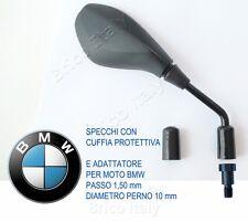 COPPIA DI SPECCHIETTI SPECCHI PER BMW R1200GS OMOLOGATI M10 PASSO 1,50 + CUFFIA