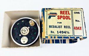 NIB Pflueger #494X Reel Spool For #1494 1/2 Medalist Fly Reel In Correct Box