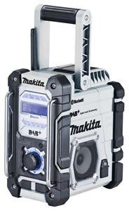 Makita Akku-Baustellenradio DMR112W DAB Bluetooth NEU