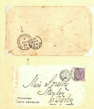 GB EARLY EXHIBITIONS *Colonial Indian Exhibition* CDS Postmark Cover 1886 Ap497
