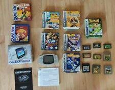 Nintendo Game Boy Gameboy Advance / AGB-001 / OVP + Spiele Sammlung