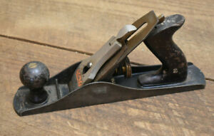 L518- Vintage Stanley Bailey No 5-1/4 Smooth Bottom Jack Plane
