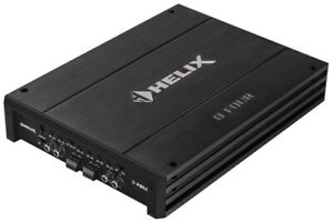 HELIX D FOUR - 4CHANNEL AMPLIFIER, CLASS-AB AMP, HI-INPUT,SMALL BRAND NEW