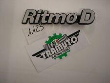 SIGLA - FREGIO RITMO  D   - TRAMUTO