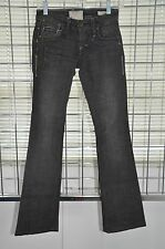 "Tavernity Black Denim Jeans Boot Cut Pants Inseam 31"" Size 24 On Sale df"