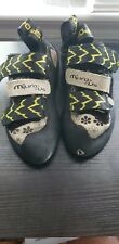La Sportiva Miura Vs Women's X-S Edge Yellow / Black Climbing Shoes Size: E34.5