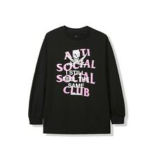 Anti Social Social Club ASSCxNeighborhood Black Jack Long Sleeve Tee size large