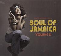 Various Artists : Soul of Jamaica - Volume 2 CD Album Digipak (2017) ***NEW***