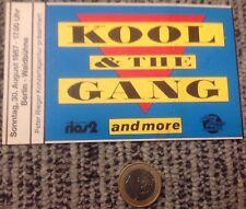 TickeT Koop & The gang, Berlin, 30 August 1987 RARE, EXCELLENT!