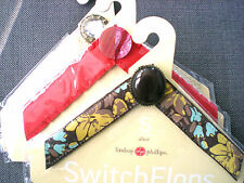 Lot of 3 LINDSAY PHILLIPS SWITCHFLOP STRAPS Size S, Ursula, Tammy, and Alice